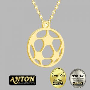 שרשרת כדורגל זהב גולדפילד